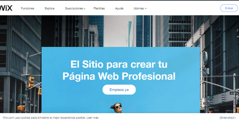 wix webs gratis